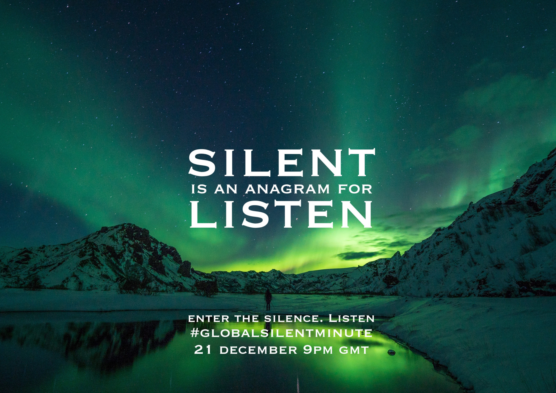 5.Silent is an anagram for Listen