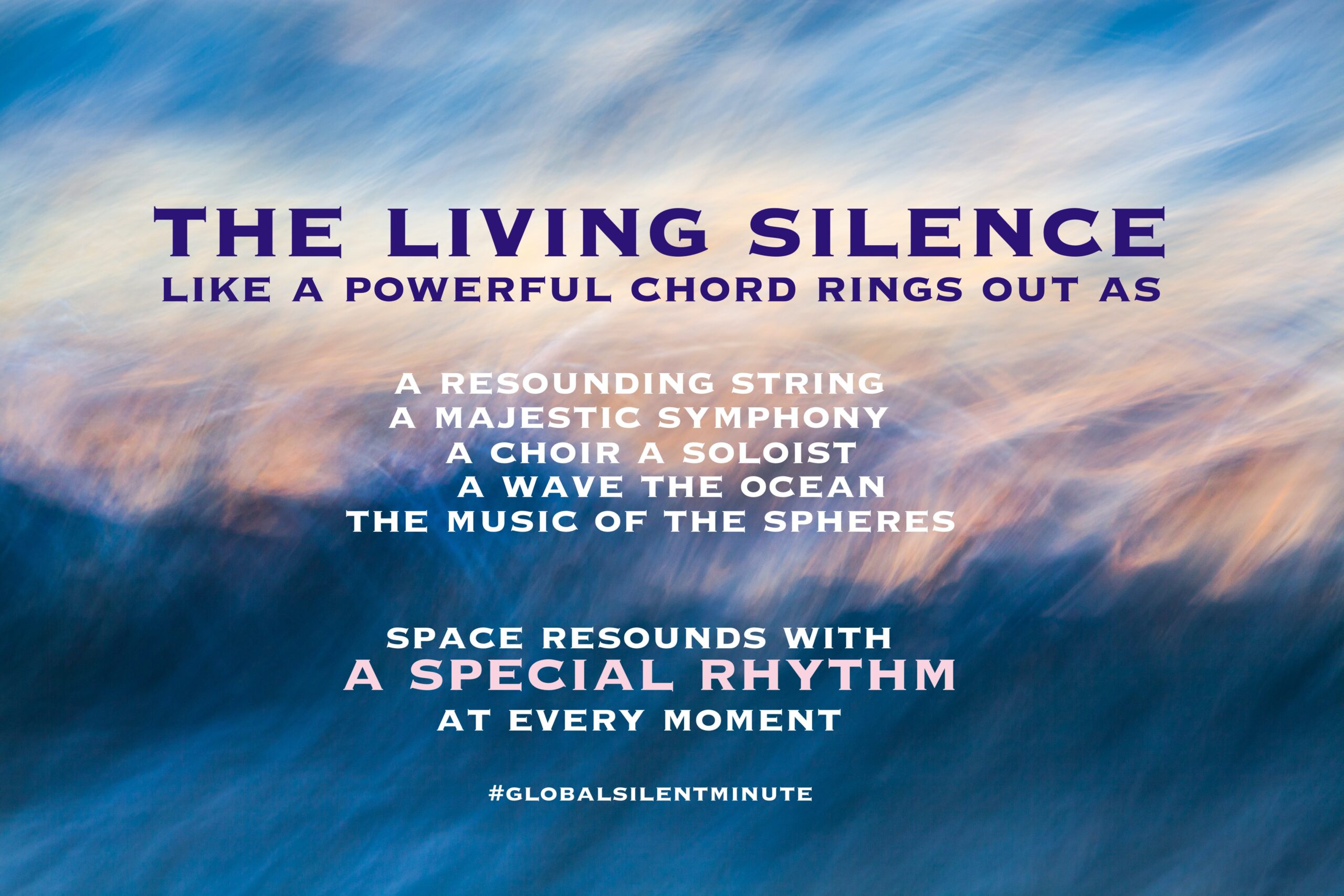18.The Living Silence like a powerful chord