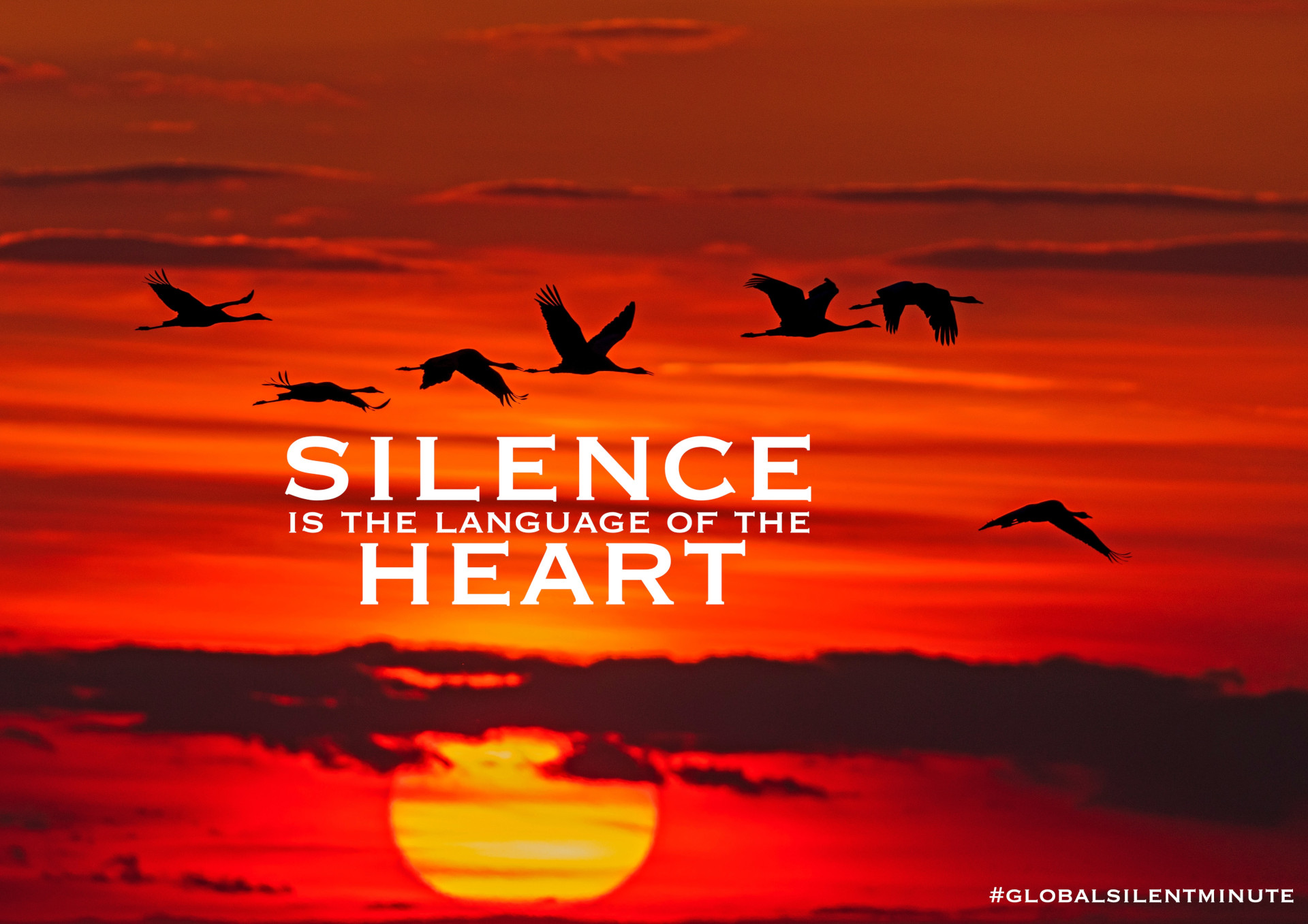 6.Silence is the language of the Heart